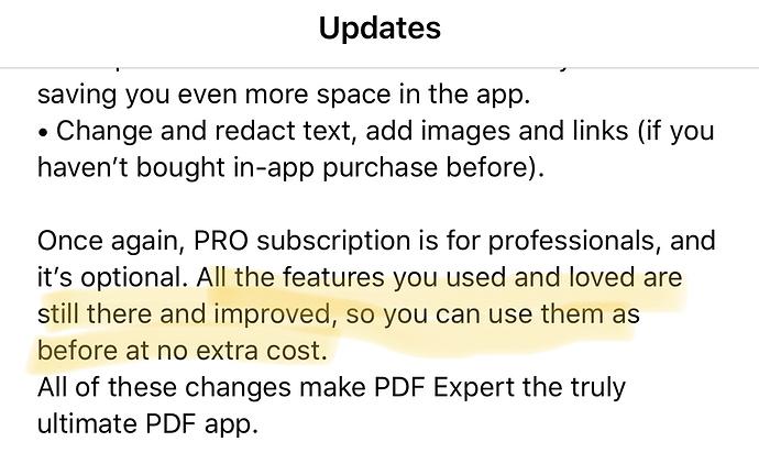 PDF Expert has gone subscription - Software - MPU Talk