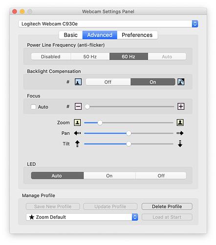 Using Logitech webcams on Mac - Hardware - MPU Talk