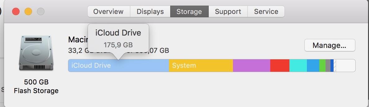 SSD drive gets full by iCloud storage - Tech Support - MPU Talk